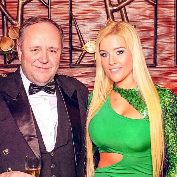 Leonetta Tarcsa with Duncan Graham, the board member of IHBC