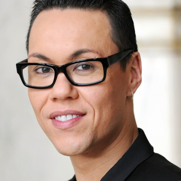 The famous stylist Gok Wan visited our shop