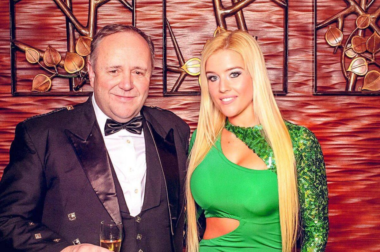 Tarcsa Leonetta Duncan Graham, az Ír-Magyar Üzleti Kör Egyesület (IHBC) elnökségi tagjával